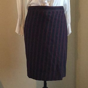 JCrew Professional pencil skirt. Size 0